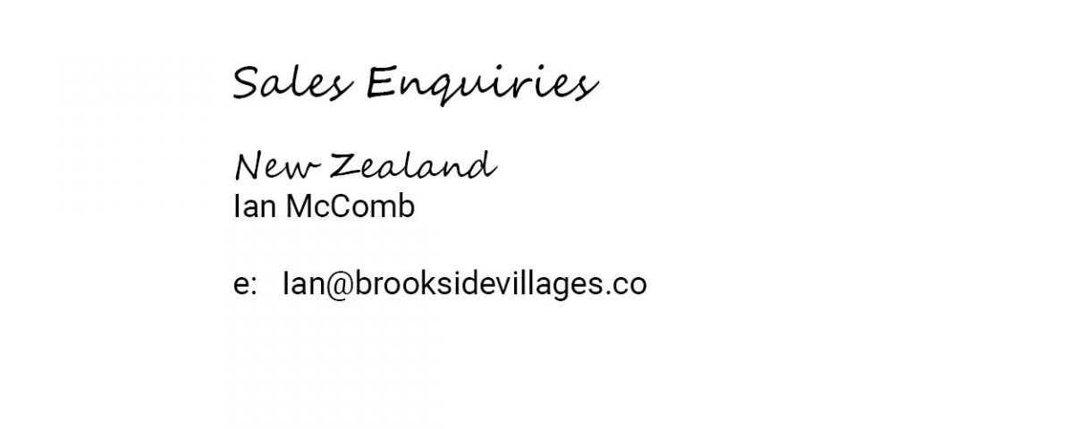 Brookside Villages Sales Enquiries